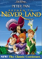 peter pan return to never land